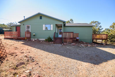 Tijeras, Cedar Crest, Sandia Park, Edgewood, Moriarty, Stanley Single Family Home For Sale: 16 Longview Road