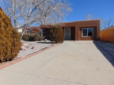 Albuquerque Single Family Home For Sale: 608 San Pablo Street NE