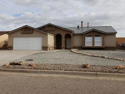 Rio Rancho Single Family Home For Sale: 6649 Shenandoah River Court NE