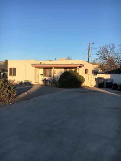 Albuquerque Single Family Home For Sale: 532 Dallas Street NE