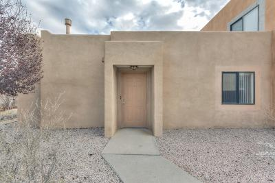 Albuquerque Attached For Sale: 4801 Irving Boulevard #3801