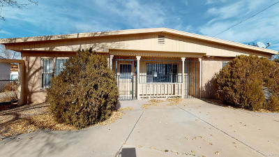 Albuquerque Single Family Home For Sale: 2401 Sunshine Road SW