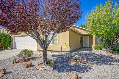 Single Family Home For Sale: 11105 Coconino Road SE