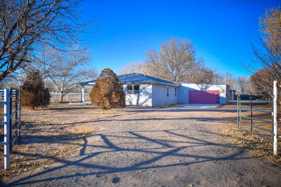 Los Lunas Single Family Home For Sale: 21 Otero Road