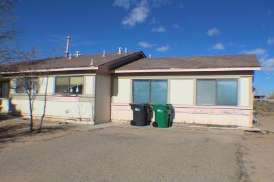 Rio Rancho Single Family Home For Sale: 599 Apache Loop SW