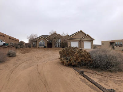 Rio Rancho Single Family Home For Sale: 5516 Vera Cruz Road NE