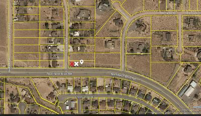 Rio Rancho NM Residential Lots & Land For Sale: $32,500