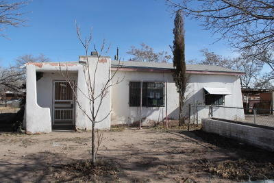 Albuquerque Single Family Home For Sale: 3104 Hughes Road SW