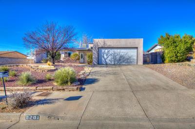 Single Family Home For Sale: 8201 Krim Drive NE