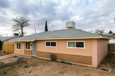 Albuquerque NM Single Family Home For Sale: $124,800