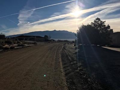 Rio Rancho Residential Lots & Land For Sale: Pasilla Road NE