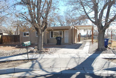 Albuquerque Single Family Home For Sale: 502 Gorry Court NW
