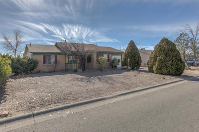Rio Rancho Single Family Home For Sale: 570 Apache Loop SW