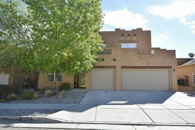 Albuquerque Single Family Home For Sale: 10824 Cobalt Drive NW