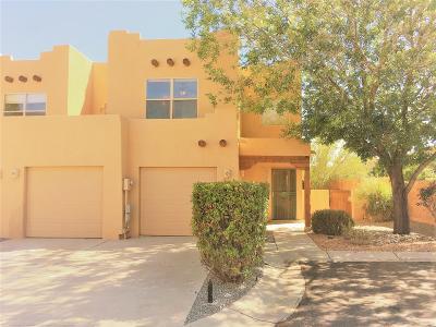 Albuquerque Attached For Sale: 3616 Calle Floresta Court NW