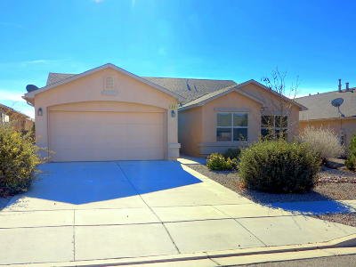 Rio Rancho Single Family Home For Sale: 1408 Sidewinder Road NE