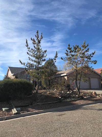 Valencia County Single Family Home For Sale: 9 Juniper Place