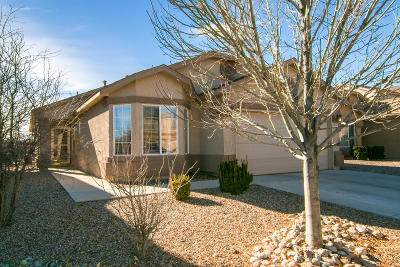 Rio Rancho Single Family Home For Sale: 436 Peaceful Meadows Drive NE