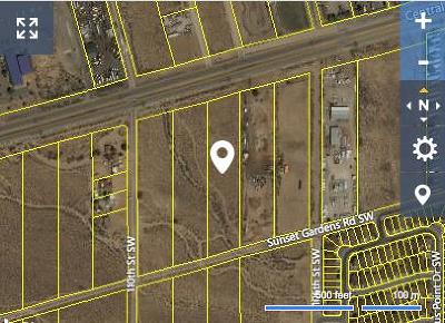 Bernalillo County Residential Lots & Land For Sale: Central Avenue SW
