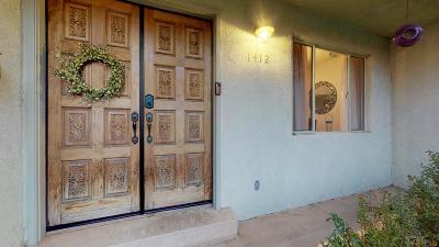 Albuquerque Single Family Home For Sale: 1412 Espanola Street NE