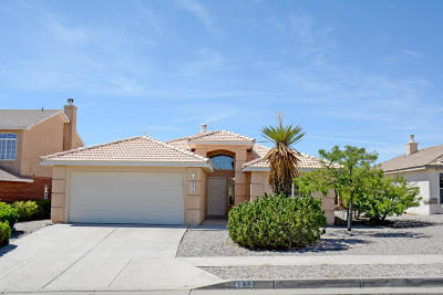 Albuquerque Single Family Home For Sale: 4612 Taylor Ridge Road NW