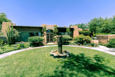 Corrales Single Family Home For Sale: 690 La Entrada