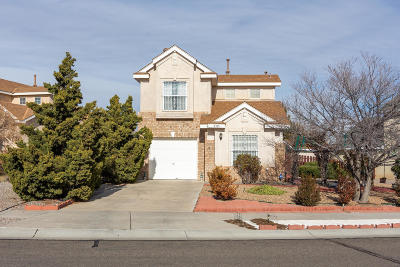 Albuquerque Single Family Home For Sale: 8315 Glynview Court NW
