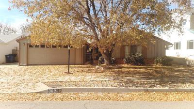 Albuquerque Single Family Home For Sale: 3821 Inca Street NE