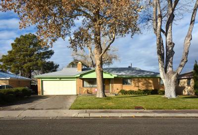 Albuquerque Single Family Home For Sale: 2725 Vermont Street NE