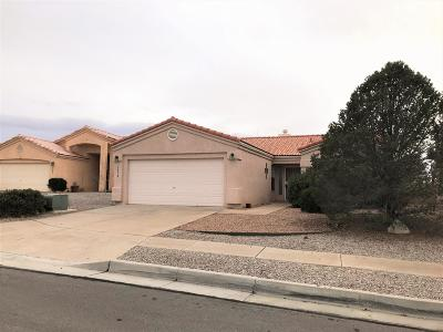 Albuquerque Single Family Home For Sale: 3912 Trailing Drive NW