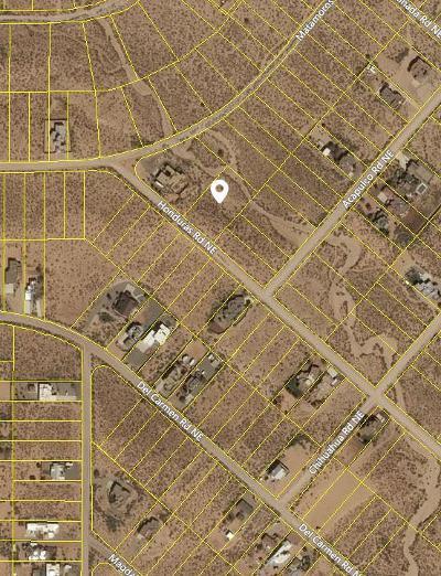Rio Rancho Residential Lots & Land For Sale: 6307 Honduras Road NE