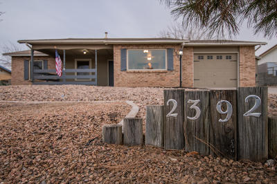 Rio Rancho Single Family Home For Sale: 2392 Green Lake Road NE