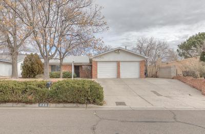 Albuquerque Single Family Home For Sale: 836 La Charles Drive NE