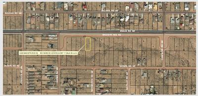 Albuquerque NM Residential Lots & Land For Sale: $5,775