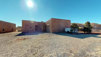 Rio Rancho Single Family Home For Sale: 7012 Vatapa Road NE