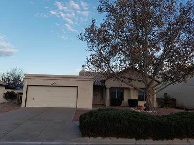 Albuquerque Single Family Home For Sale: 2104 Rosewood Avenue NW