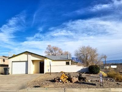 Rio Rancho Single Family Home For Sale: 100 Pearl Drive NE