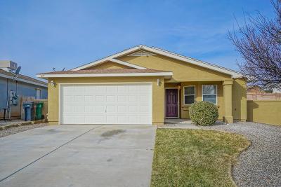 Rio Rancho Single Family Home For Sale: 473 Cimarron Meadows Court NE