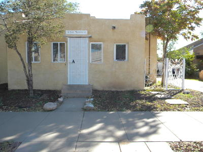 Albuquerque Single Family Home For Sale: 1314 Los Tomases Drive NW