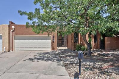 Single Family Home For Sale: 7539 Quemado Court NE