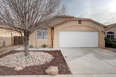Albuquerque Single Family Home For Sale: 10732 Shooting Star Street NW