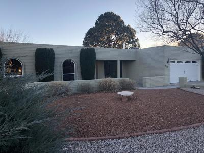 Albuquerque Single Family Home For Sale: 8524 Evangeline Avenue NE