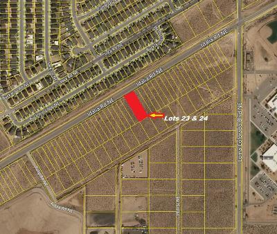 Rio Rancho Residential Lots & Land For Sale: 1684-1700 Idalia Road NE