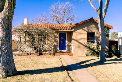 Albuquerque Single Family Home For Sale: 305 Solano Drive NE
