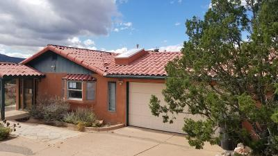 Placitas, Bernalillo Single Family Home For Sale: 10 Martin Road