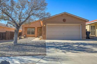 Albuquerque Single Family Home For Sale: 10609 Monte Bello Court NW