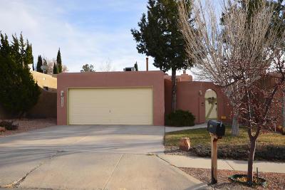 Albuquerque Single Family Home For Sale: 10408 Cueva Del Oso NE