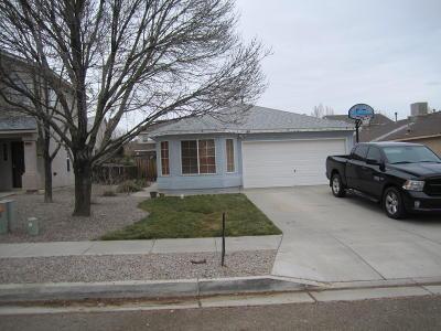 Rio Rancho Single Family Home For Sale: 609 Autumn Meadows Drive NE