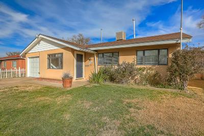 Albuquerque Single Family Home For Sale: 1504 Espejo Street NE