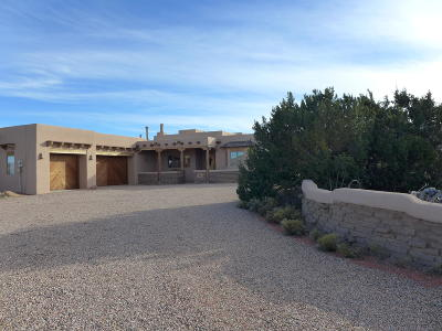 Placitas Single Family Home For Sale: 138 Diamond Tail Road